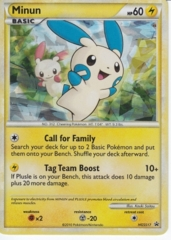 Minun HGSS17 Cracked Ice Holo Promo - Undaunted Blister Exclusive