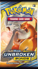 Pokemon Sun & Moon SM10 Unbroken Bonds Booster Pack