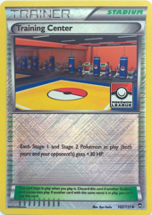 Training Center 102/111 Crosshatch Holo Promo - 2015 Pokemon League