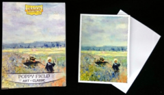 Dragon Shield Classic Art Standard-Size Sleeves - Poppy Field - 100ct