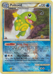 Politoed 7/95 Crosshatch Holo Promo - 2011 National Championships