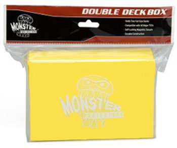 Monster Double Deck Box - Yellow