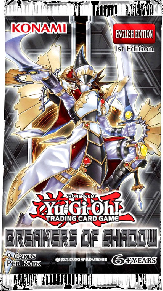 Yu-Gi-Oh Breakers of Shadow 1st Edition Booster Pack