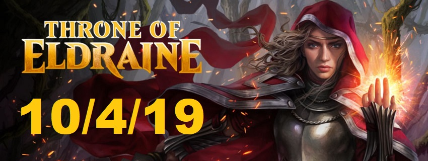 Throne of Eldraine Preorder Banner