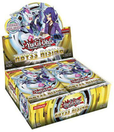 Yu-Gi-Oh Abyss Rising 1st Edition Booster Box