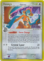 Deoxys (Normal) - 5/110 - Rare - Reverse Holo