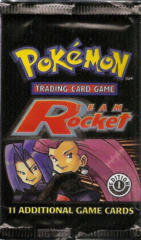 Pokemon Team Rocket 1st Edition Booster Pack - Jessie & James Artwork