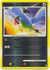 Chatot - 55/100 - Common - Reverse Holo