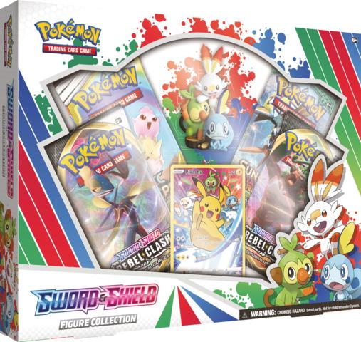 Pokemon Sword & Shield Figure Collection Box