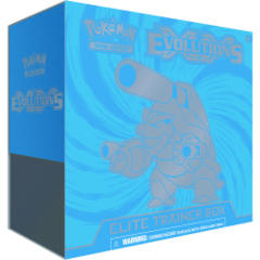 Pokemon XY12 Evolutions Mega Blastoise Elite Trainer Box