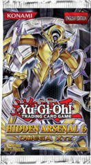 Yu-Gi-Oh Hidden Arsenal 6 Omega XYZ Unlimited Edition Booster Pack