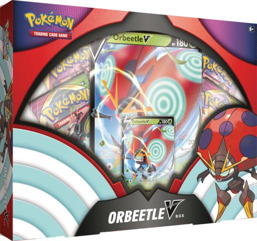 Pokemon Orbeetle V Collection Box