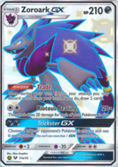Zoroark-GX 77a/73 Full-Art Promo - Hidden Fates Great Ball Collection