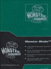Monster Protectors 9-Pocket Binder - Matte Forest Green