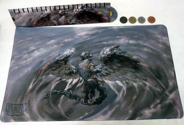 Dragon Shield Limited Edition Playmat -  Gencon 2018 Exclusive Eden/Pearl