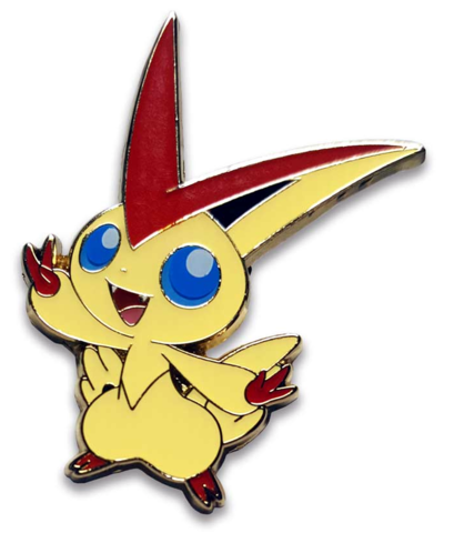 Victini Pin - Mythical Victini Collection Exclusive