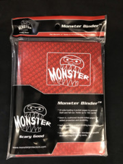 Monster Protectors 4-Pocket Binder - Holo Red