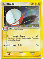 Electrode - 27/106 - Uncommon - Reverse Holo
