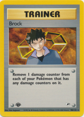Brock - 98/132 Rare - 1st Edition