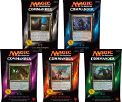 MTG Commander 2015 Decks: Set of 5