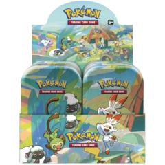Pokemon Galar PALS Mini Tins Display Box