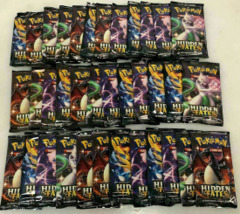 Pokemon Hidden Fates 36ct Booster Pack Lot