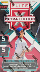 2019 Panini Elite Extra Edition MLB Baseball Hobby Box