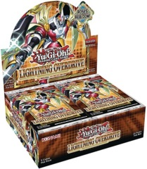 Yu-Gi-Oh Lightning Overdrive 1st Edition Booster Box