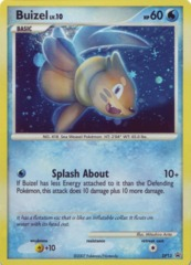 Buizel DP13 Cosmos Holo Promo - DP Value Pack 2 Exclusive