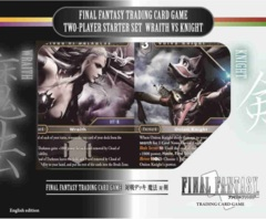 Final Fantasy TCG Wraith vs Knight 2-Player Starter Set