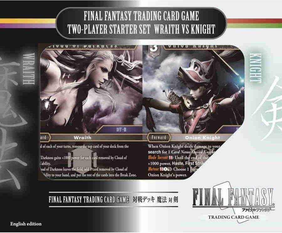 FFTCG Final Fantasy TCG Earth//Fire Promo Dice