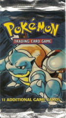Pokemon Base Set Unlimited Edition Booster Pack - Blastoise Artwork