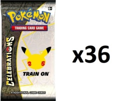 Pokemon Celebrations 36ct Booster Pack Lot