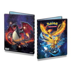 Ultra Pro Pokemon Sun & Moon Hidden Fates 9-Pocket Portfolio - Legendary Birds/Charizard
