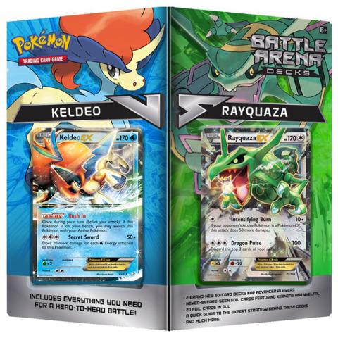 Pokemon Battle Arena Decks: Rayquaza VS Keldeo