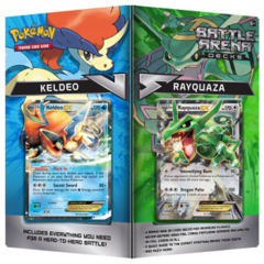 Pokemon Battle Arena Decks: Rayquaza VS Keldeo
