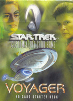 Star Trek CCG Voyager Starter Deck