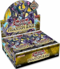Yu-Gi-Oh Phantom Rage 1st Edition Booster Box