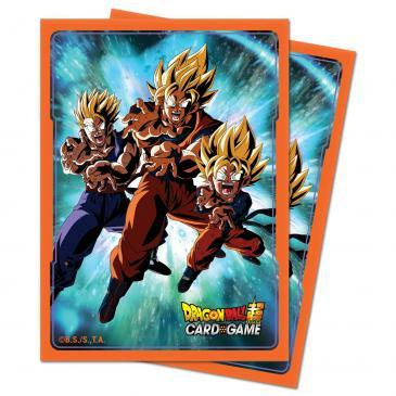 Ultra Pro Standard Size Dragon Ball Super Sleeves - Family Kamehameha - 65ct