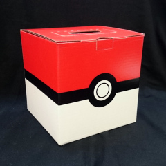Collectors Cache Pokemon Mystery Box - LARGE Pokeball with Pokemon Plush