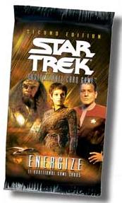 Star Trek CCG Energize Booster Pack