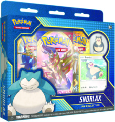 Pokemon Snorlax Pin Collection Box