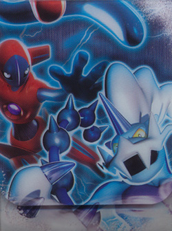 Japanese Pokemon Black & White Deoxys & Thundurus Deck Box
