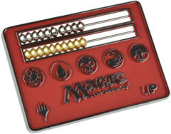 Ultra Pro Card Size Red Abacus Life Counter for Magic: The Gathering