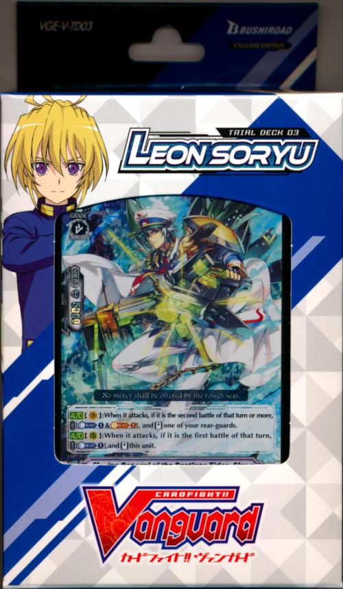 Cardfight!! Vanguard VGE-V-TD03 Leon Soryu Trial Deck