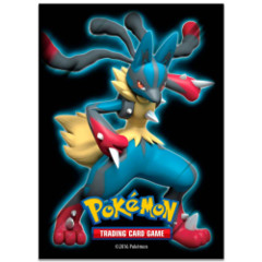 Pokemon Mega Lucario 65-count Standard Size Sleeves