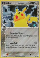 Pikachu δ 035 Cosmos Holo Promo - Value Pack Exclusive