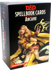 Dungeons & Dragons 5th Edition Spellbook Cards: Arcane