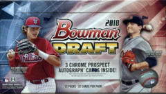 2018 Bowman Draft Baseball MLB Jumbo HTA