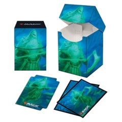 Ultra Pro Kaldheim Combo 100+ Deck Box and 100ct sleeves featuring Ranar the Ever-Watchful
